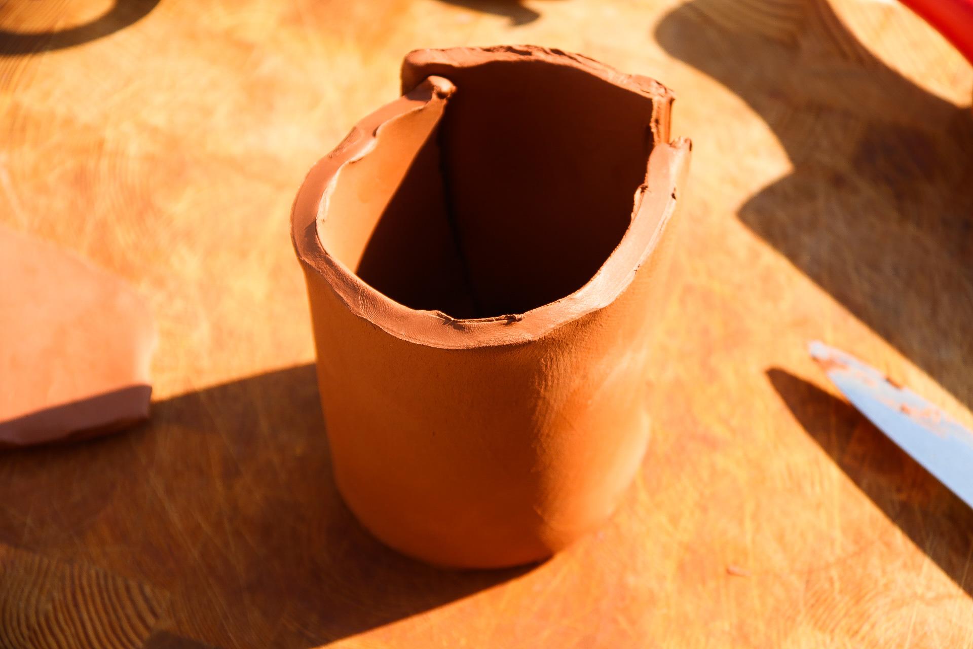 Skapa lerkrukor