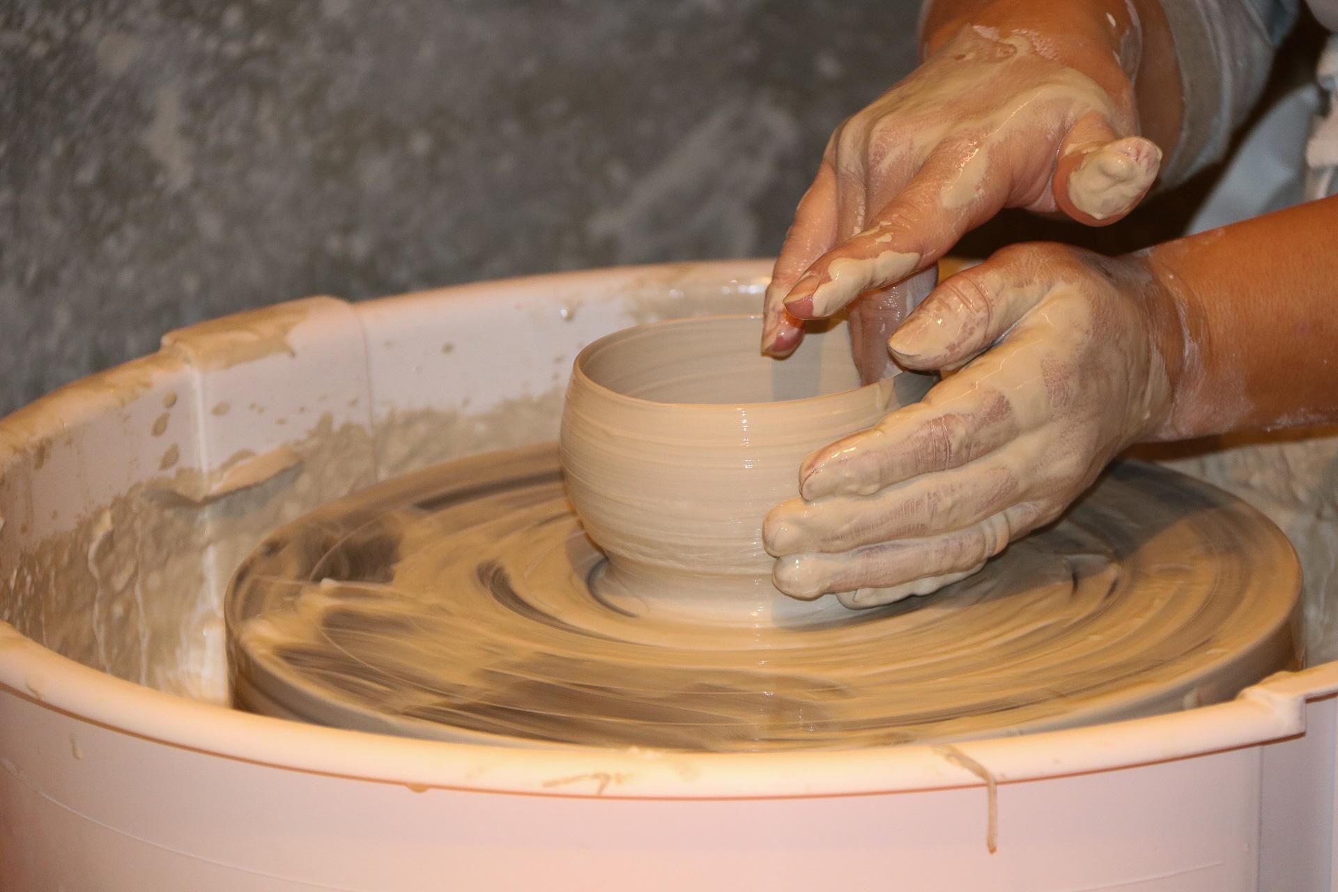 Keramik hos Clay'n & Play