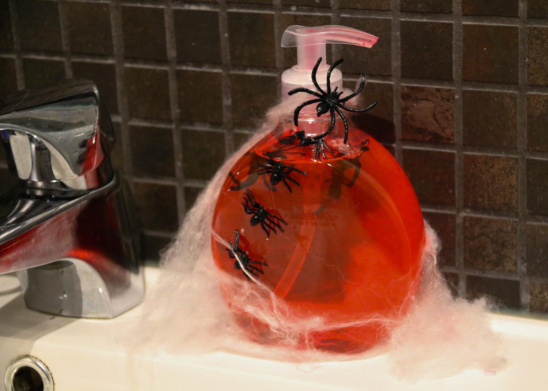 Halloweenpyssel - fixa tvålen