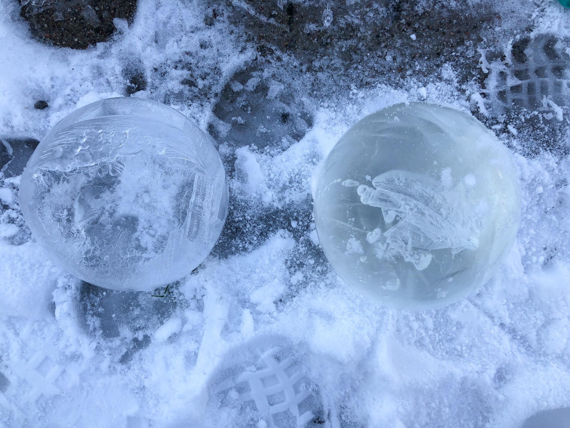 Pyssel med is