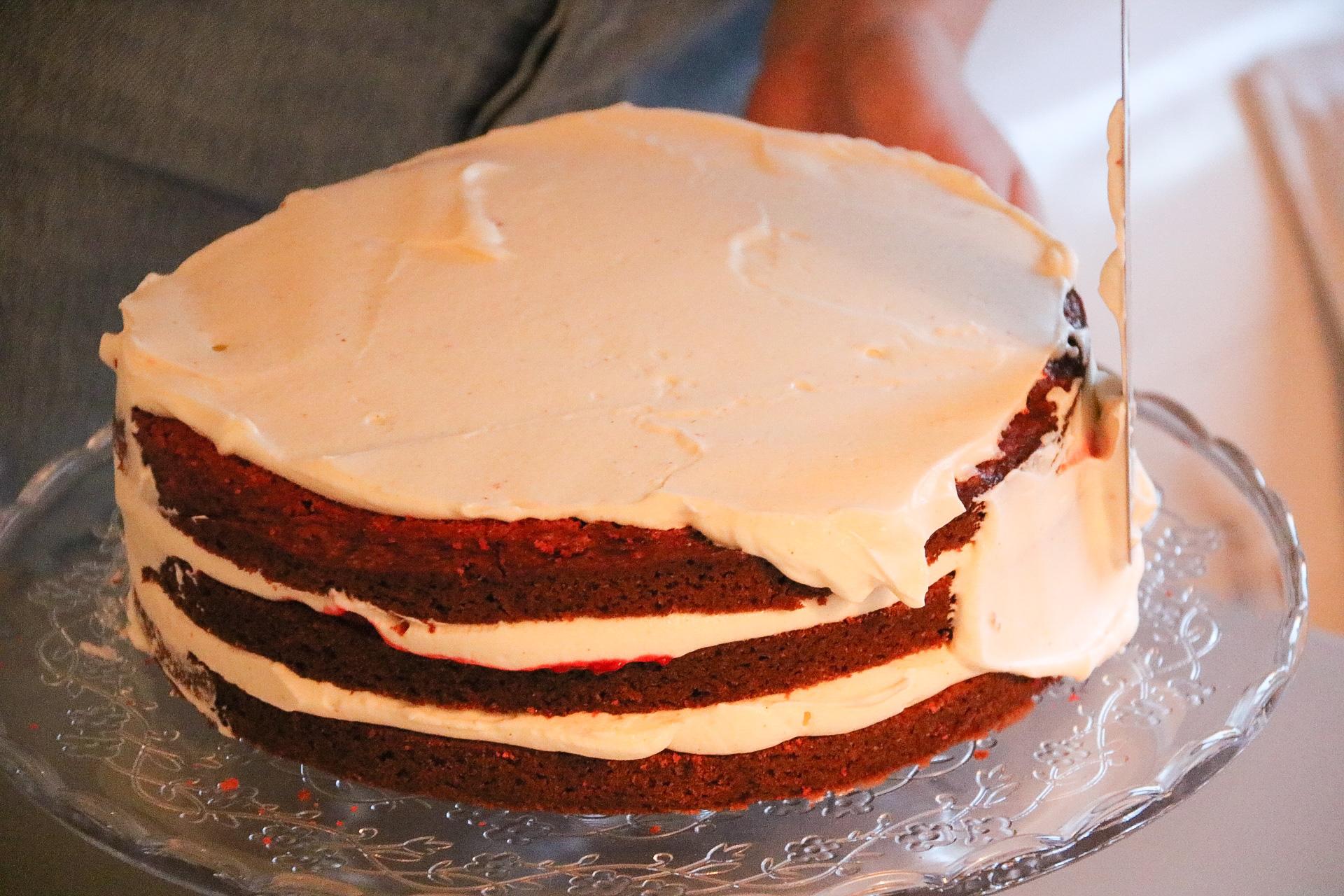 Redvelvet tårta
