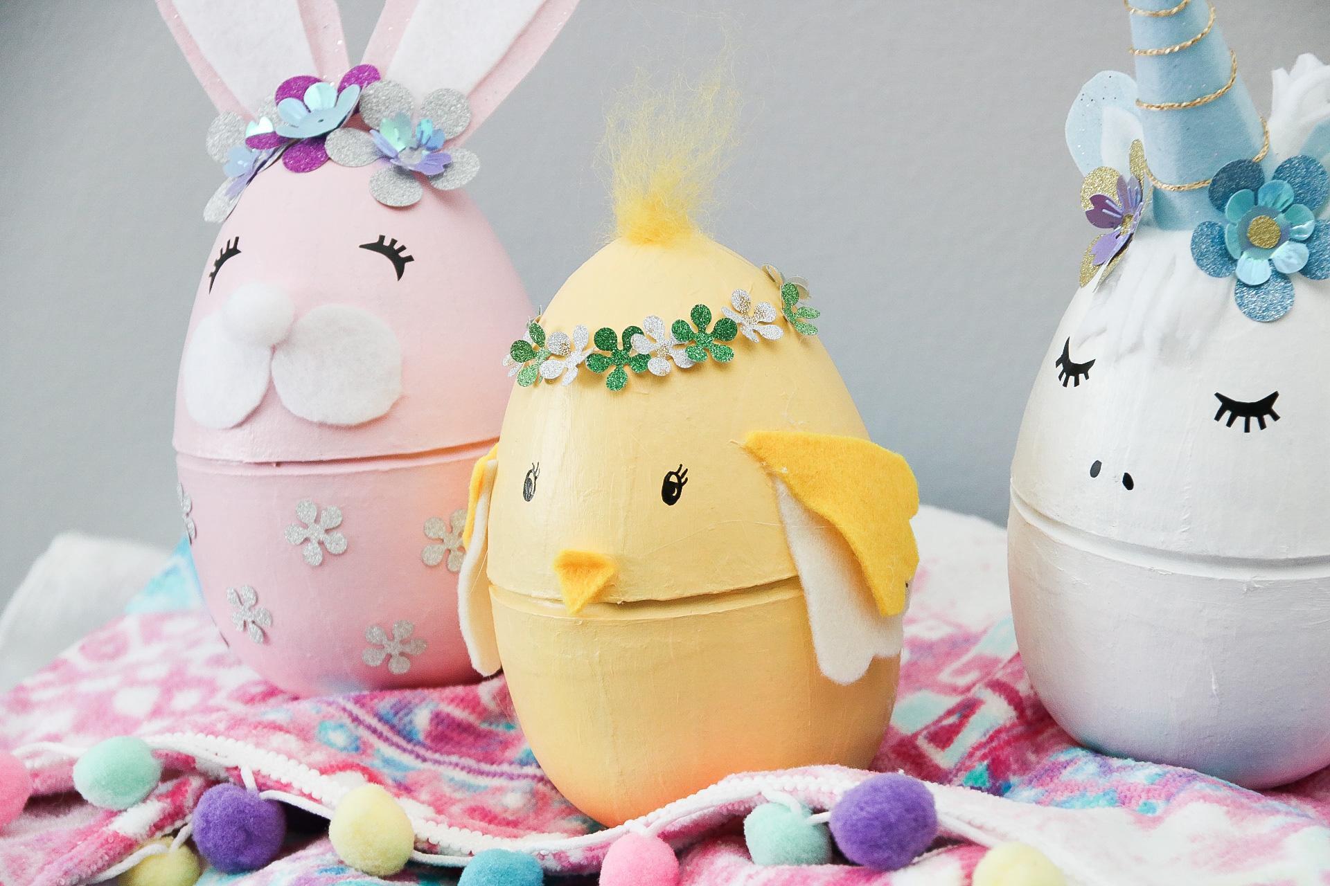 Påskpyssla ägg