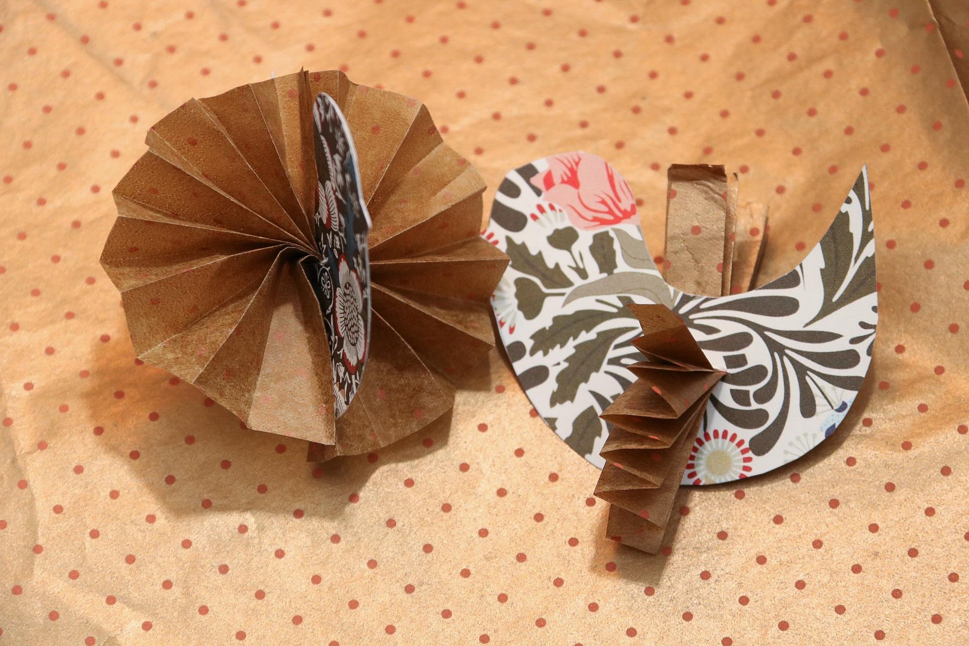 Påskpyssla pappersfåglar