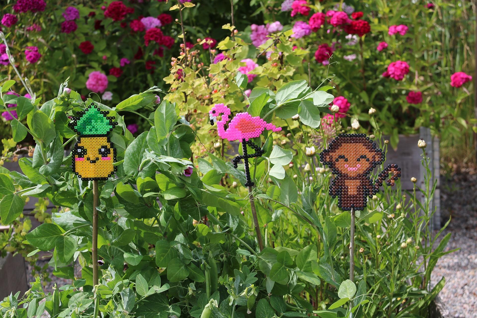 Växtstöd av pärlplattor