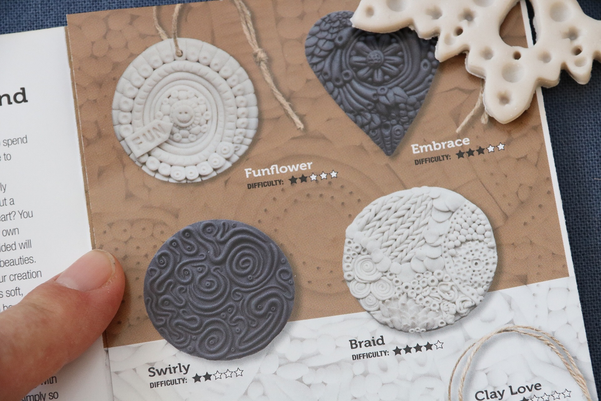 Doodle clay