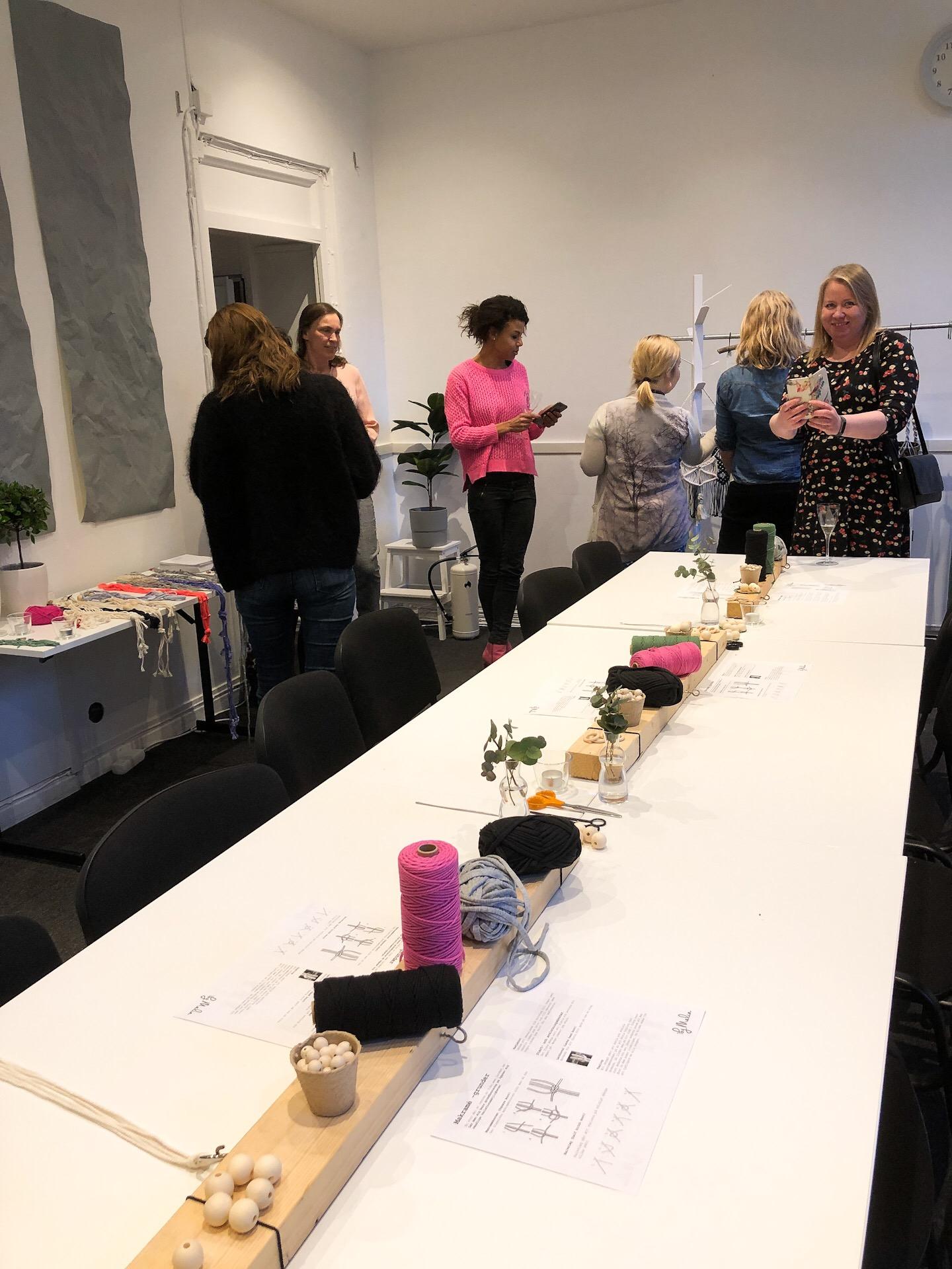 Workshop i Makramé