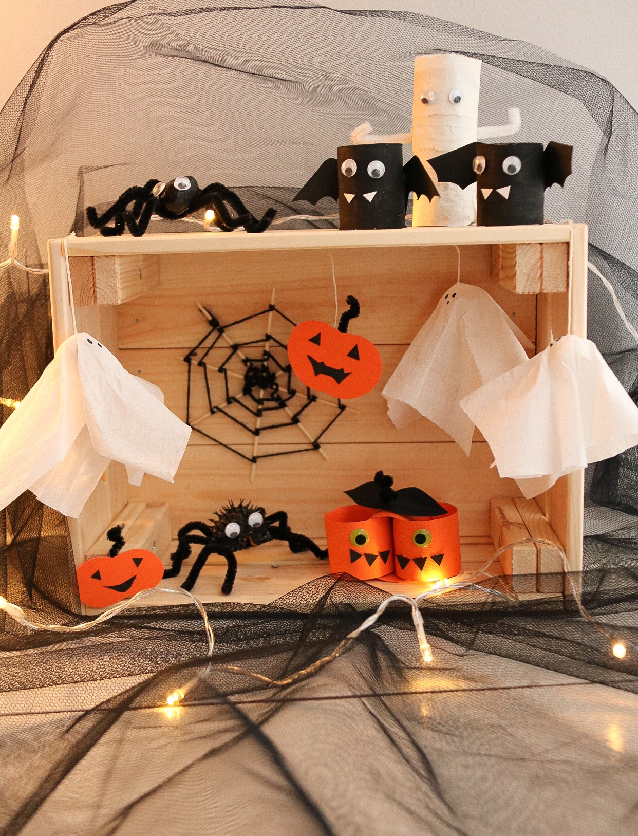 Enkla Halloweenpyssel