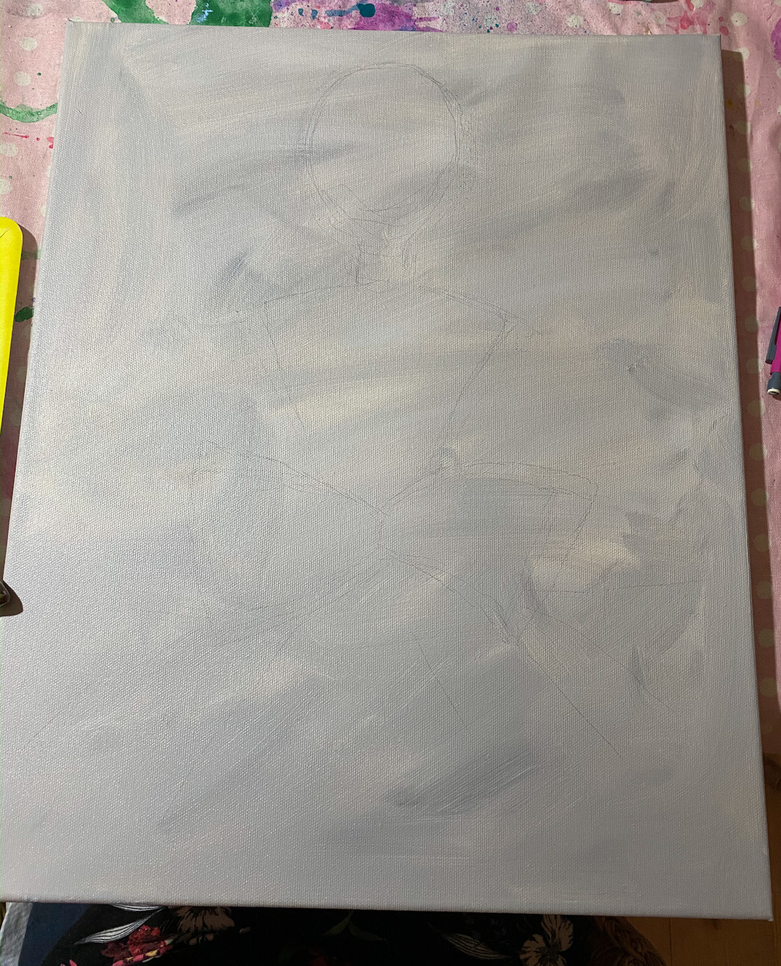 Måla i akryl