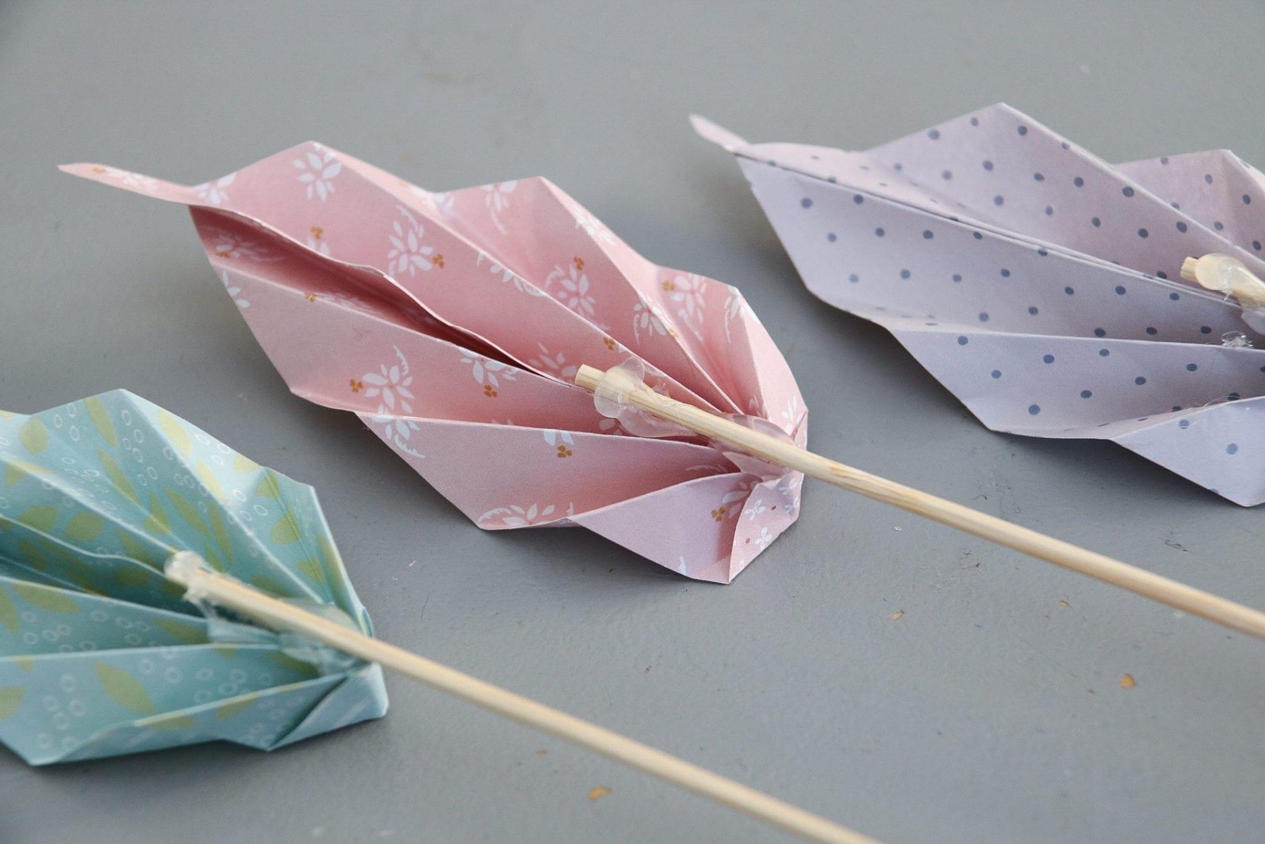 Origami löv