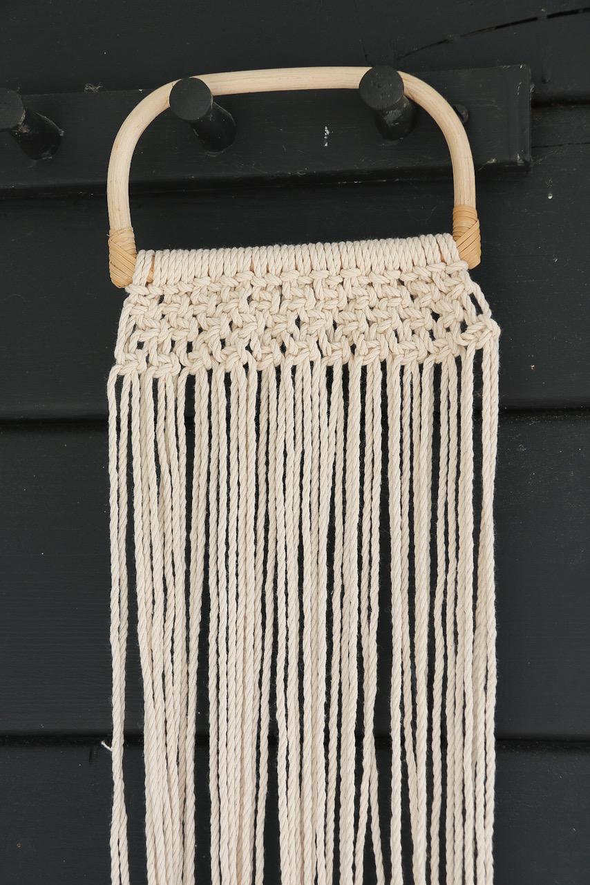 Makramé väska
