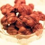 trillingnötter i presentask