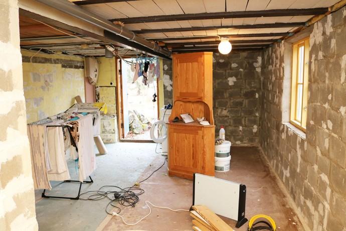 Renovering källare