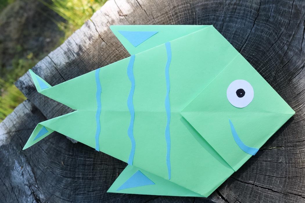 Origami - fisk