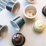 Diy: ljusslinga av kaffekapslar