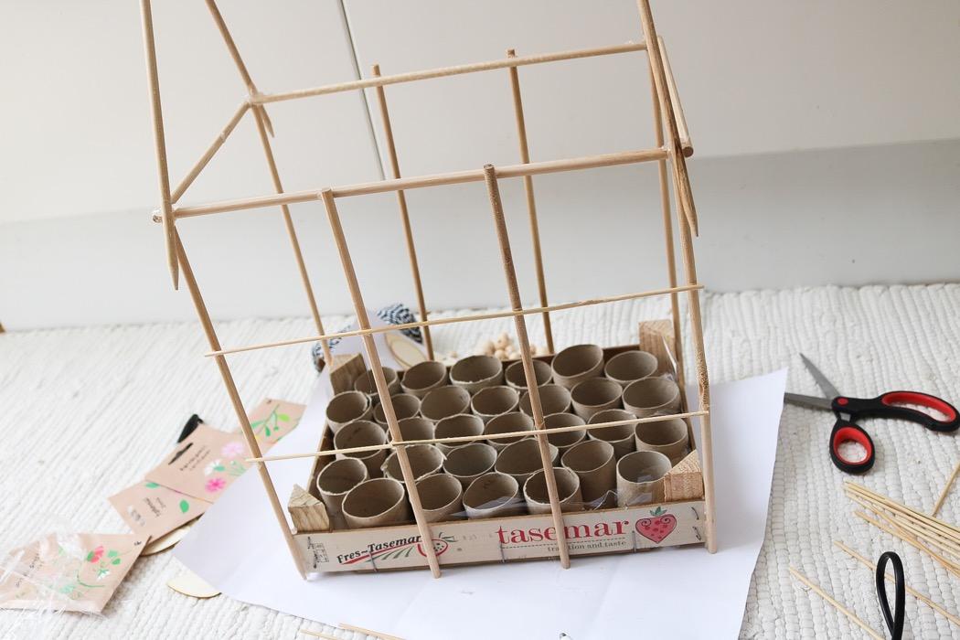 Bygga miniväxthus