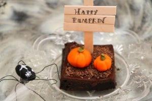 Halloweenbrownies