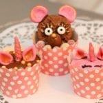Enhörning & Nallecupcakes