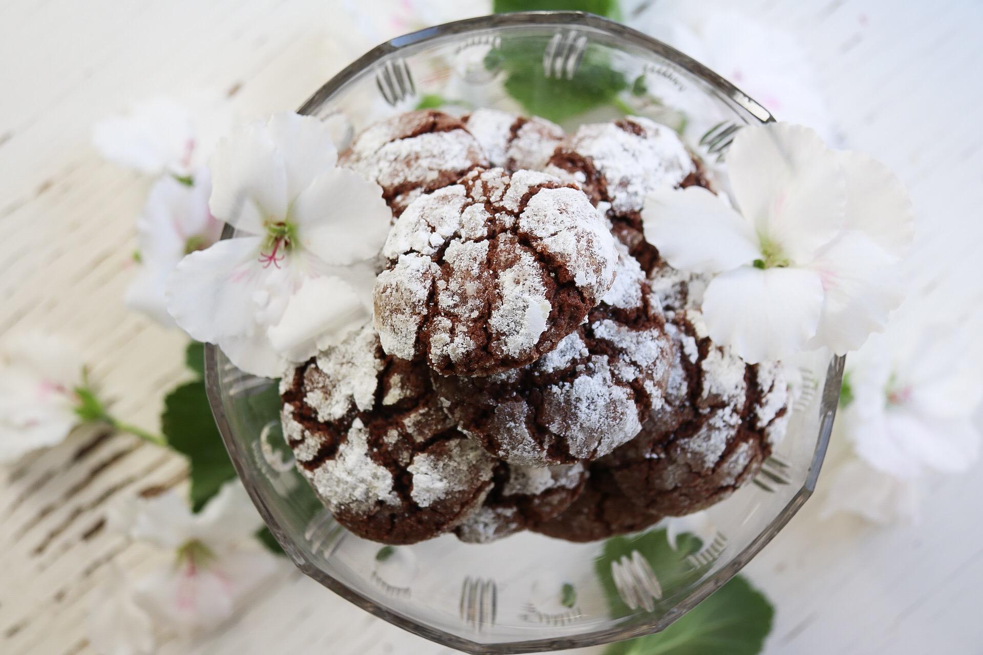Smaskiga chokladkakor