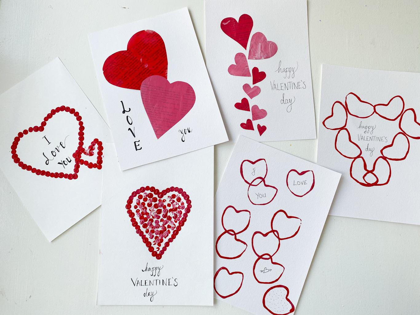 Alla hjärtans dags kort