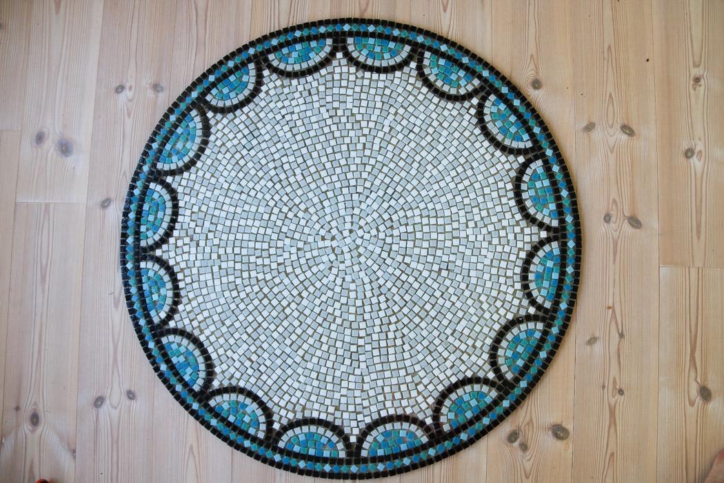 Diy: Mosaikbord