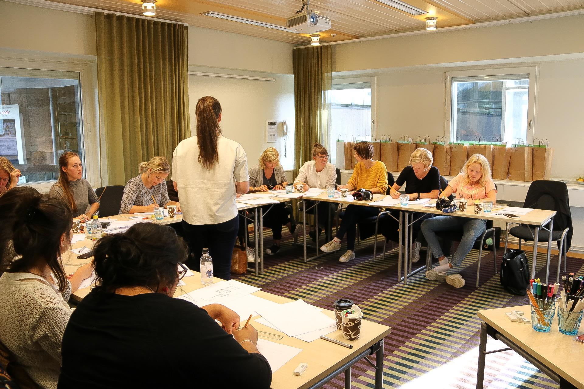 Workshop i Lettering