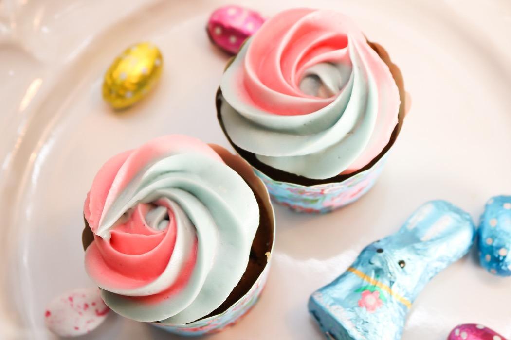 Påskcupcakes