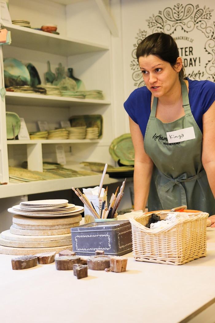 Workshop i stämpeltillverkning ochn keramik