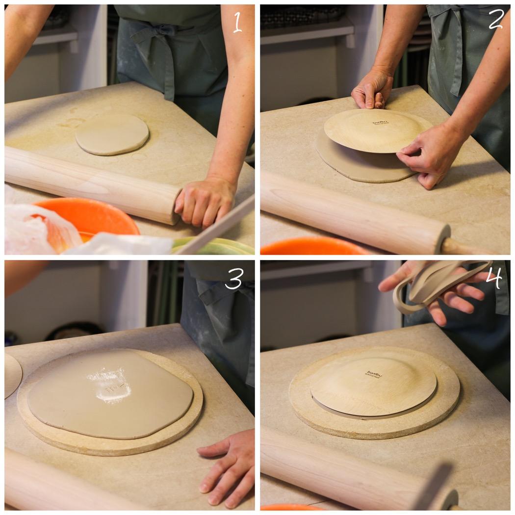 Workshop i stämpeltillverkning och keramik