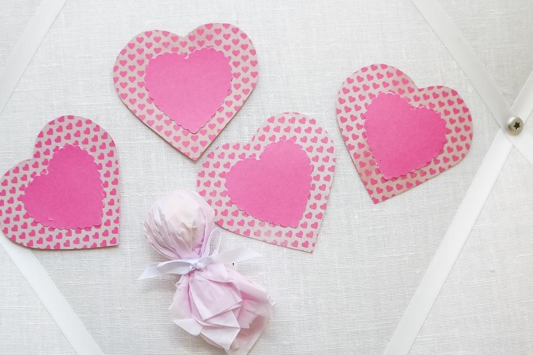 Alla hjärtansdag pyssel