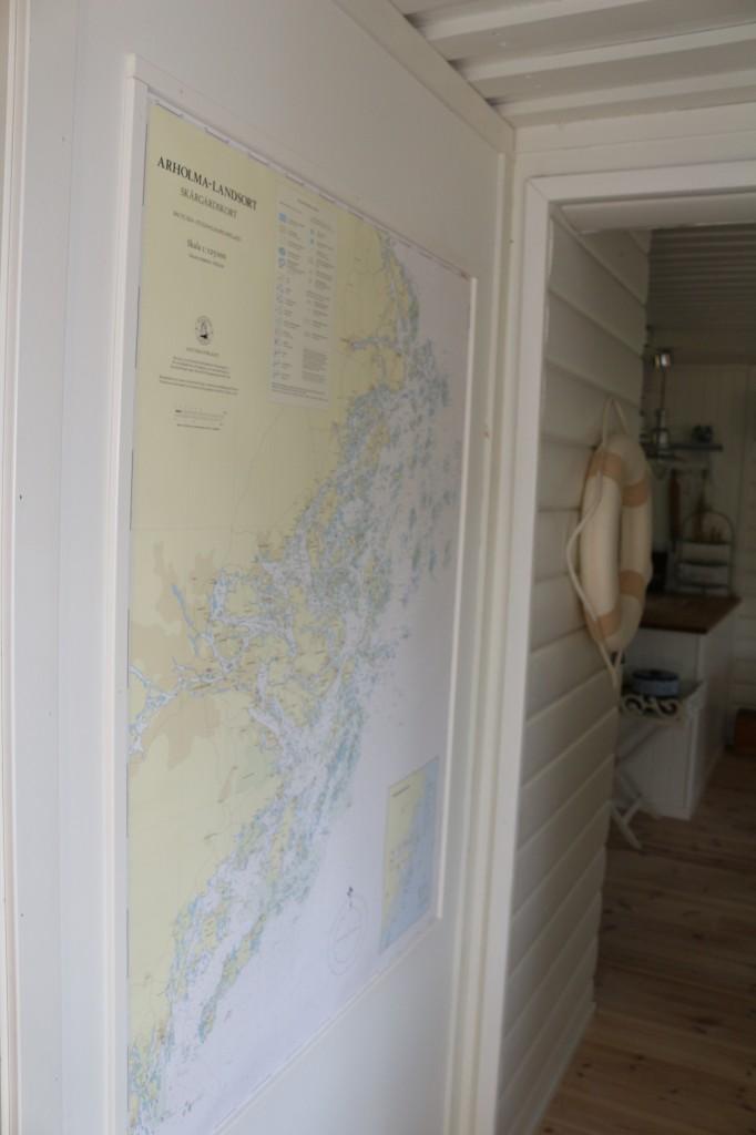 Tavlor av sjökort