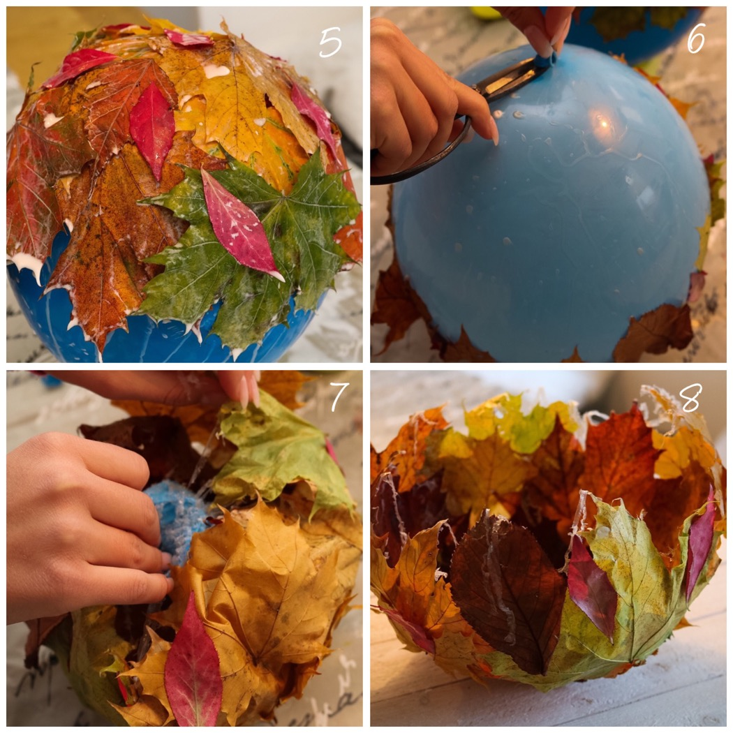 DIY: Lövskålar