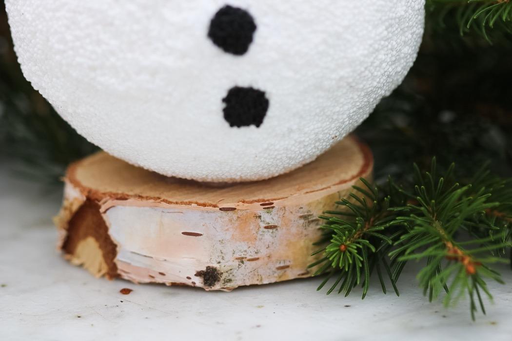 Snögubbe av Foam clay