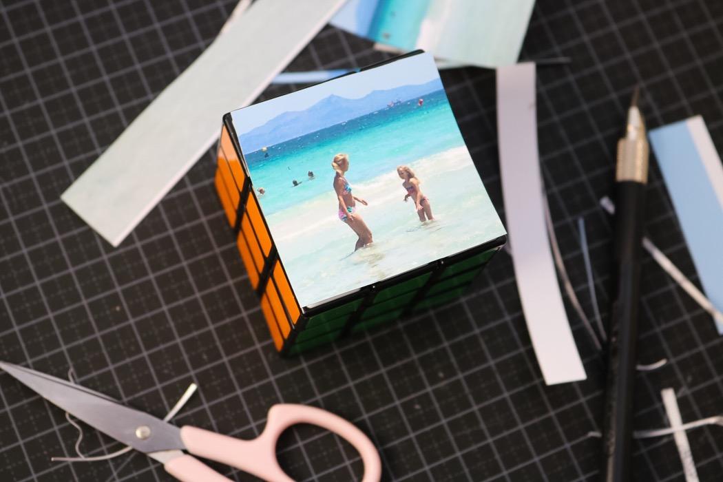 Diy foto Rubiks kub