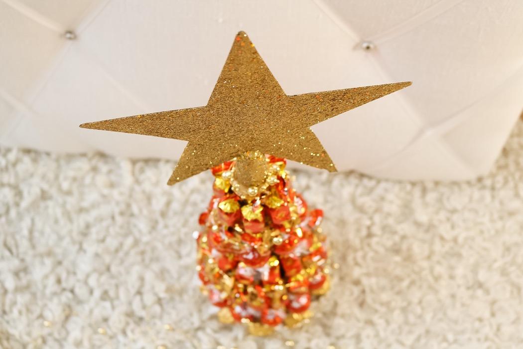 Diy: julgran av en flaska
