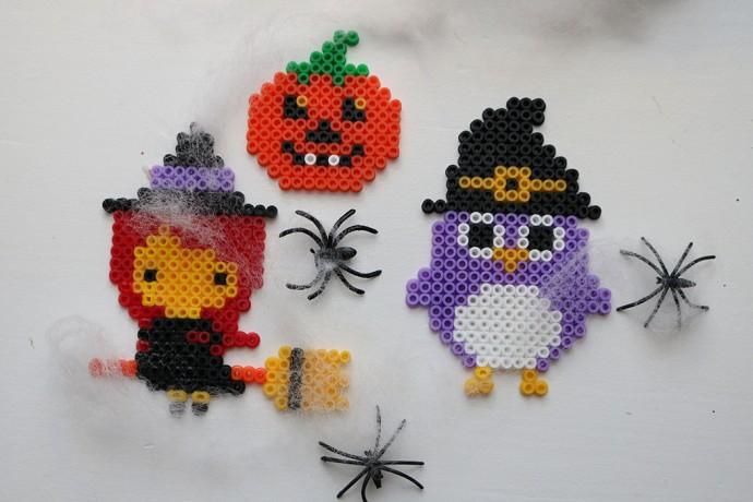 halloween pärlplattor