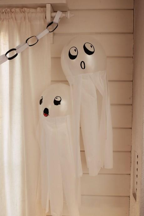 halloweenpyssel: spökballonger