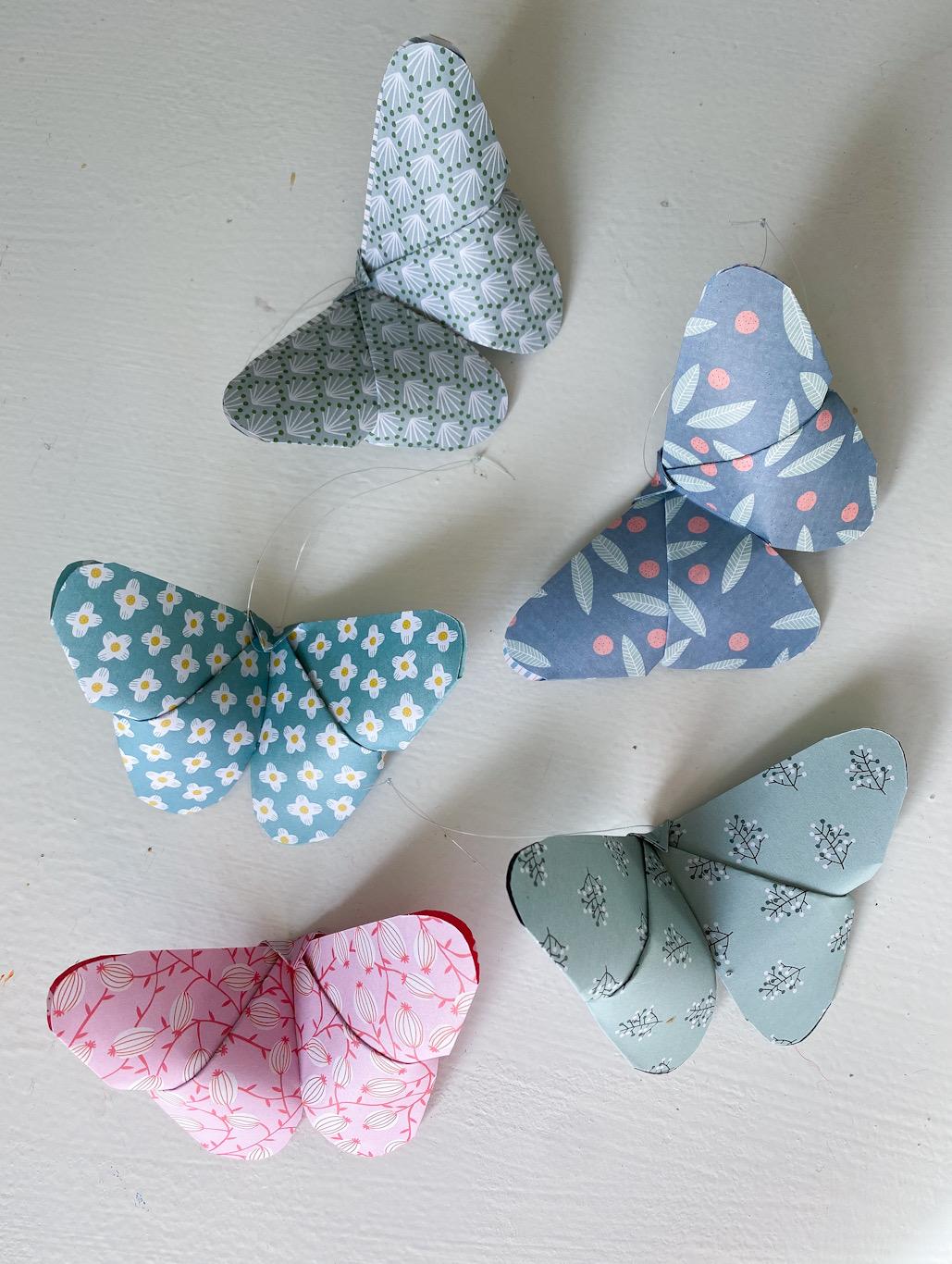 Vika fjärilar