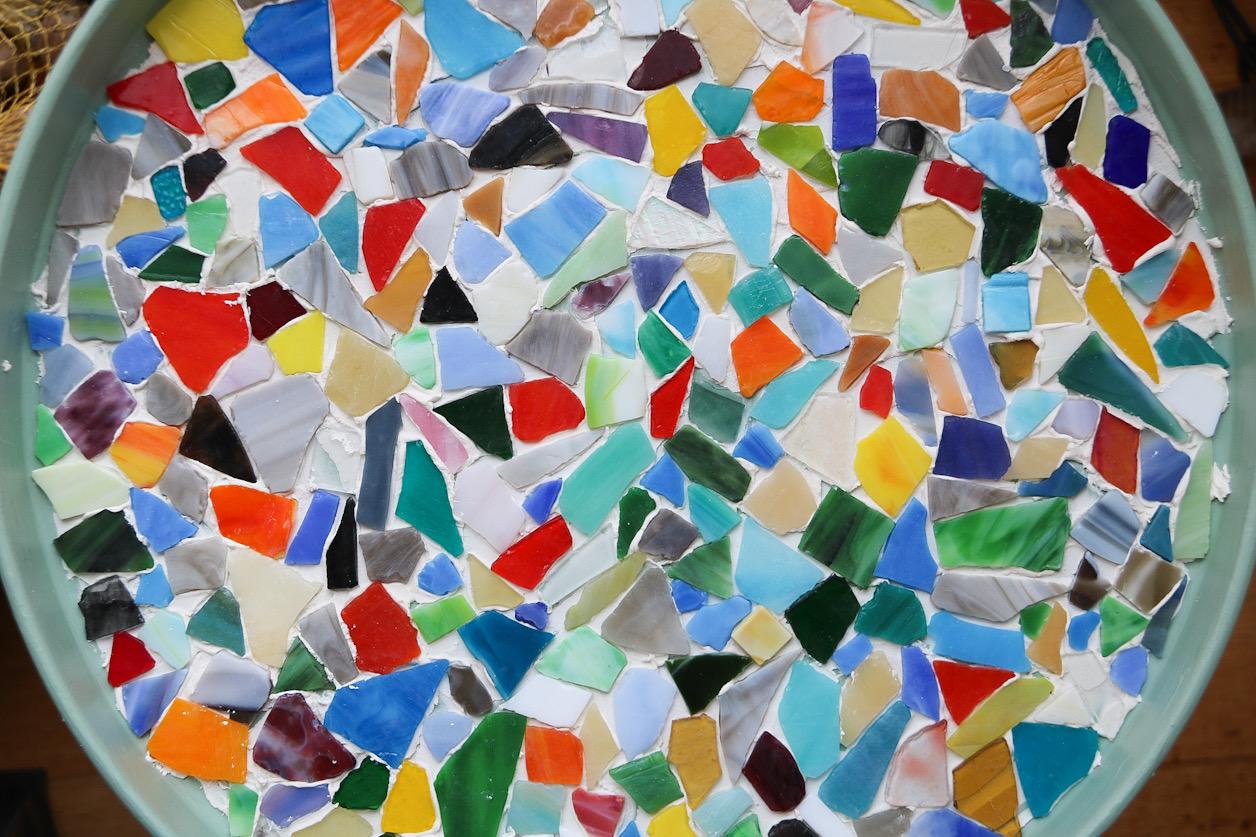 Göra ett mosaikbord
