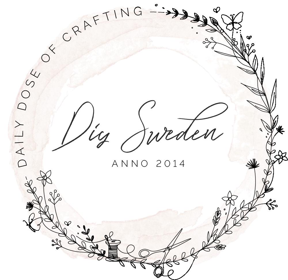 DIY Sweden Handritad Logotyp - Retina
