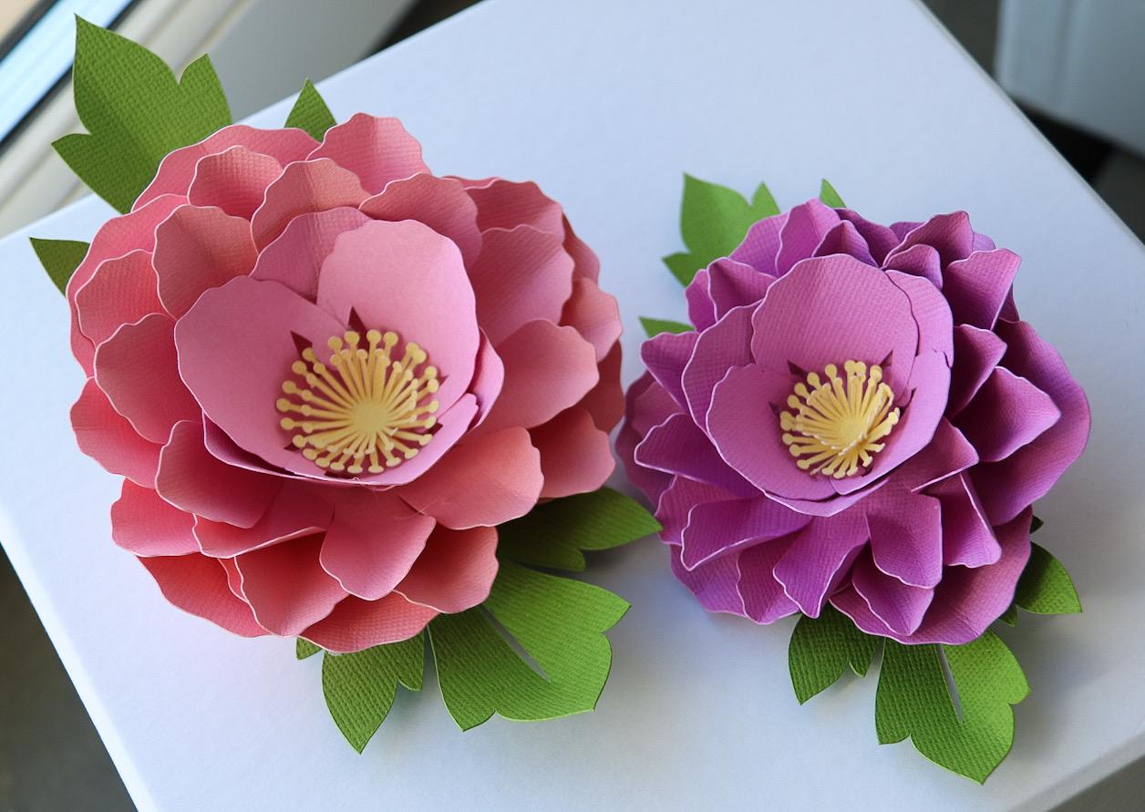 Cricut blommor