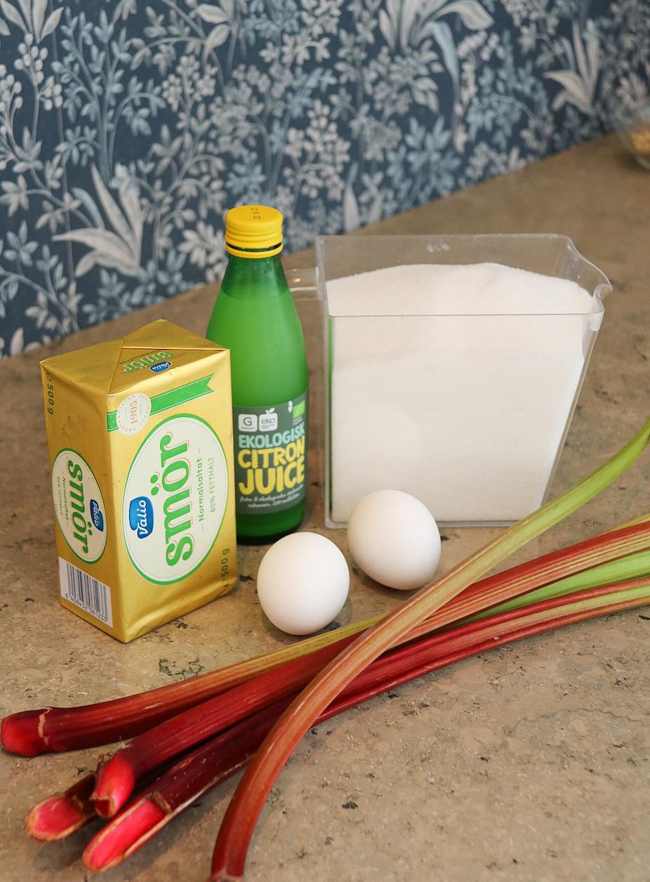 Ingredienser Jordgubbstårta