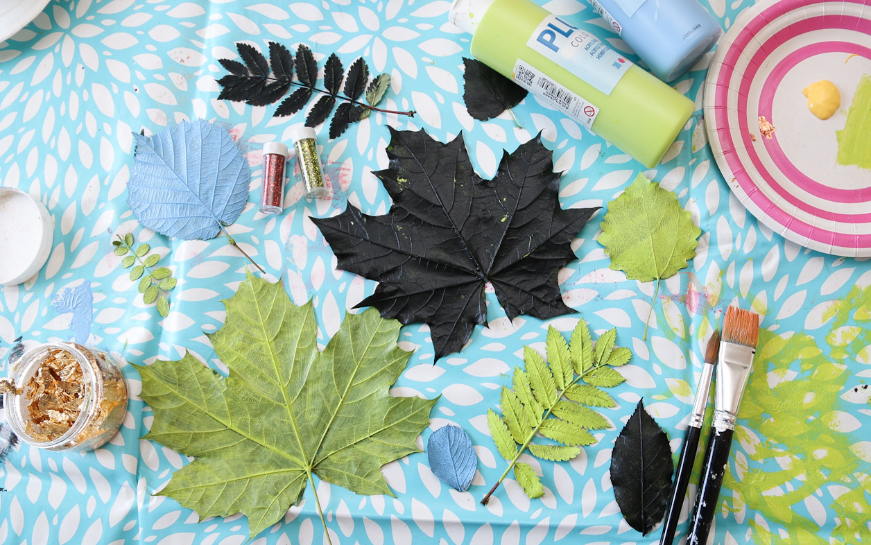 Löv måla