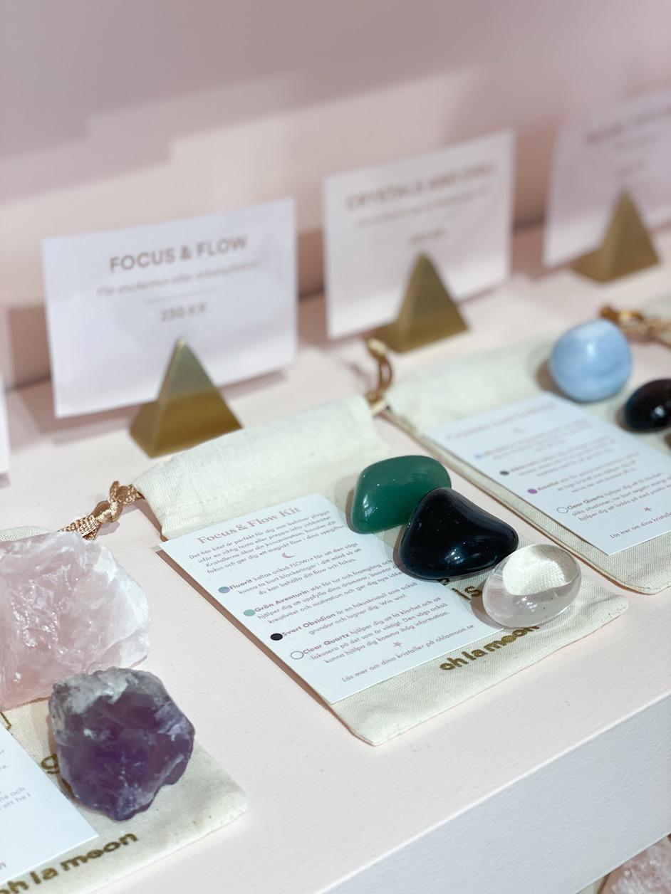 Kristaller och stenar